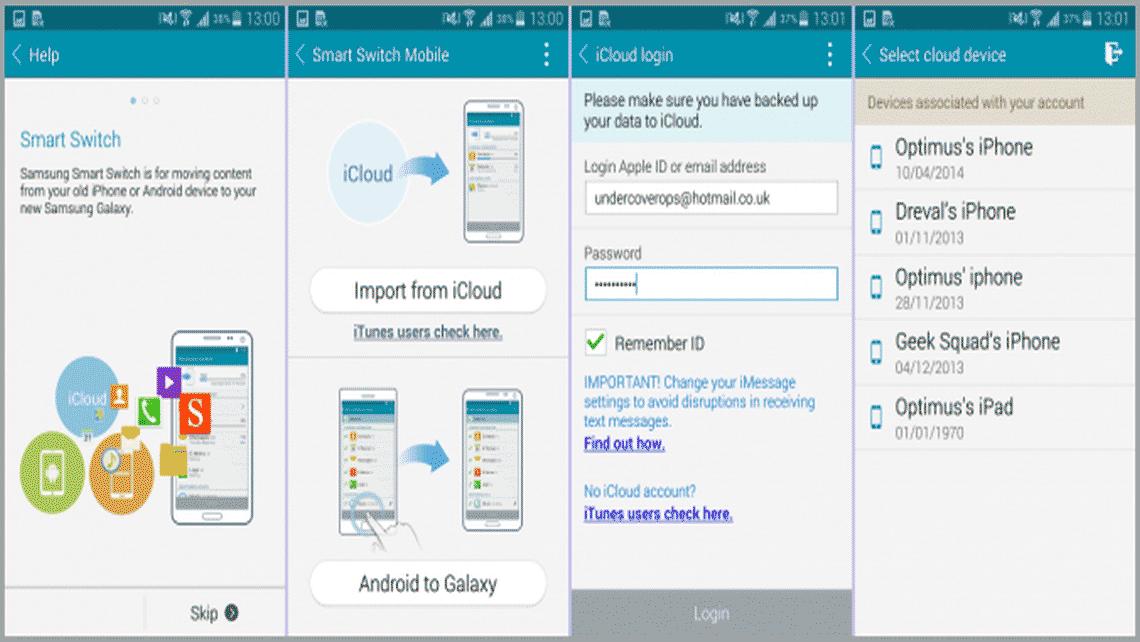 مهاجرت آسان به گوشیهای سامسونگ با Smart Switch